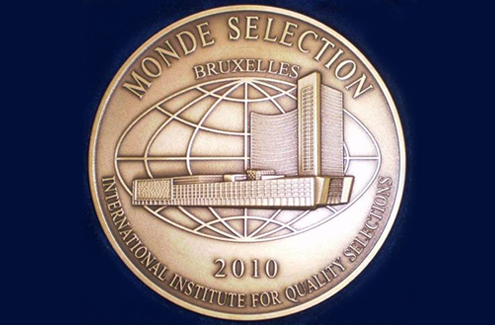 Bronze medal of Monde Selection